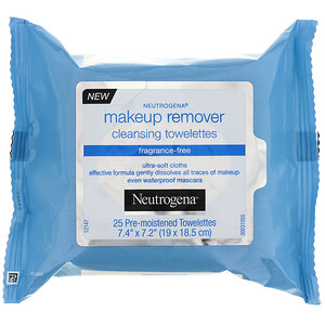 Neutrogena, Makeup Remover Cleansing Towelettes, Fragrance