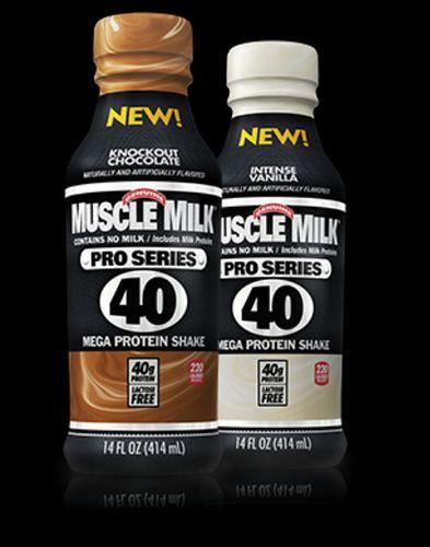 Muscle Milk Pro Series 40 Muscle Milk Muscle Milk Smoothie Protein Milkshake