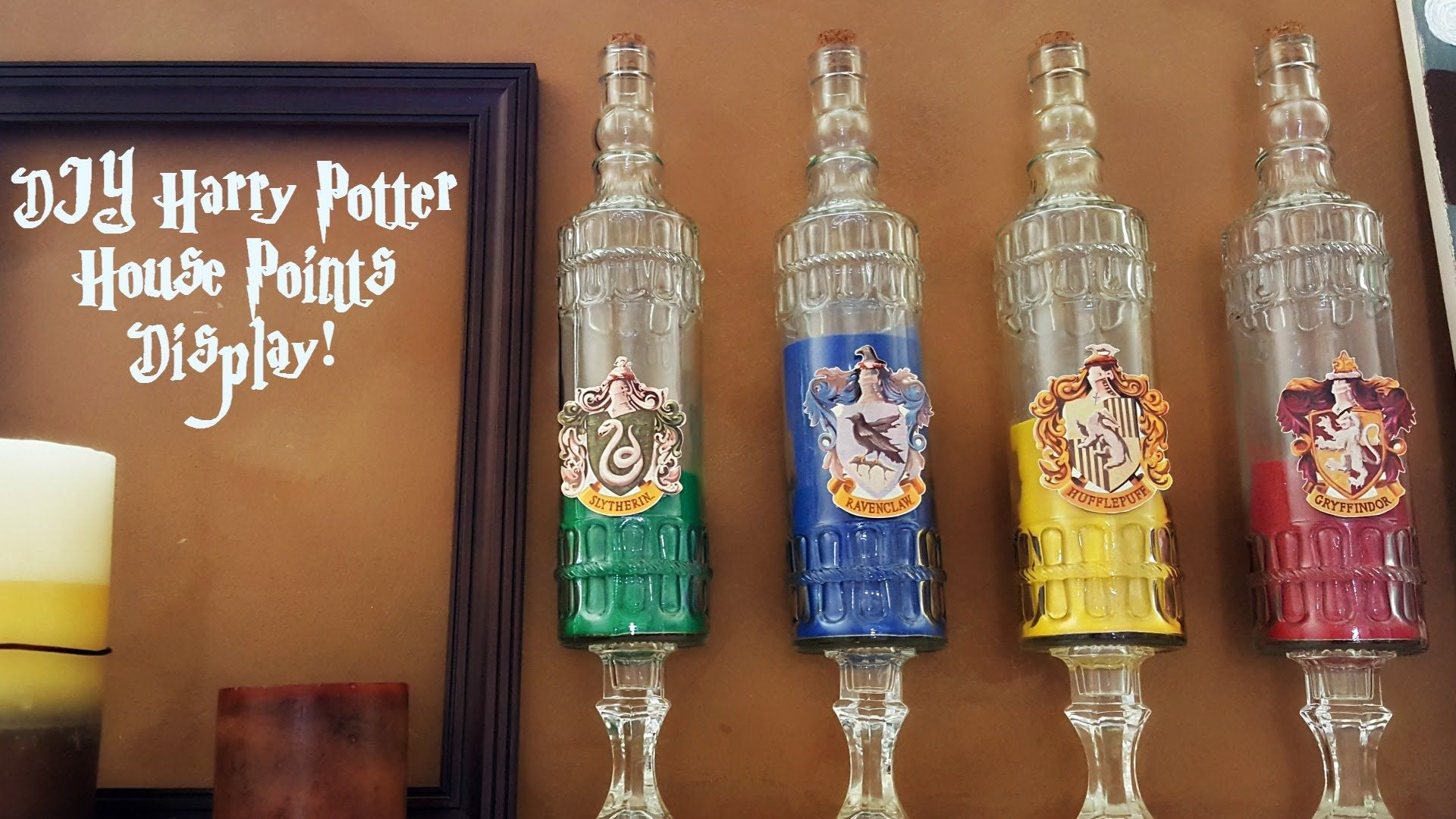 Harry Potter Display Harry Potter Diy Hogwarts House Points Display My Life