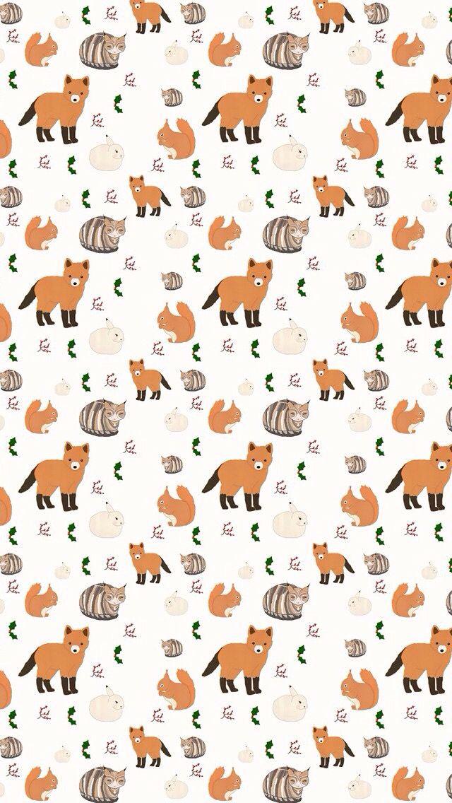 Fox iPhone wallpaper Iphone wallpaper pattern, Wallpaper