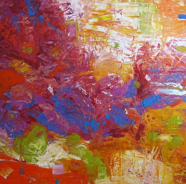 """""""Sonoran Rhapsody"""" Oil Painting by Jeff Ferst on Artful Home."""