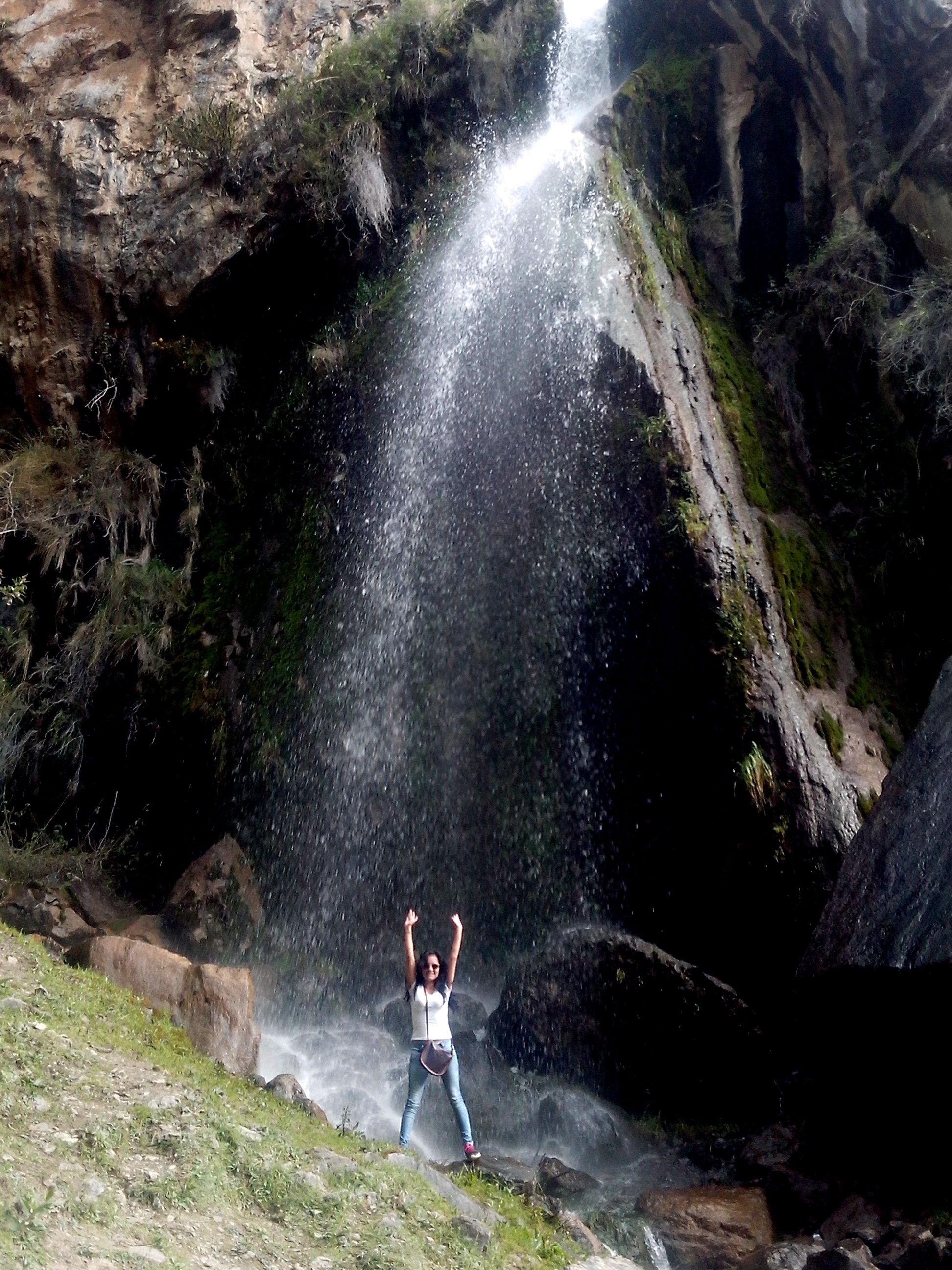 Mitica cascada de Laraos