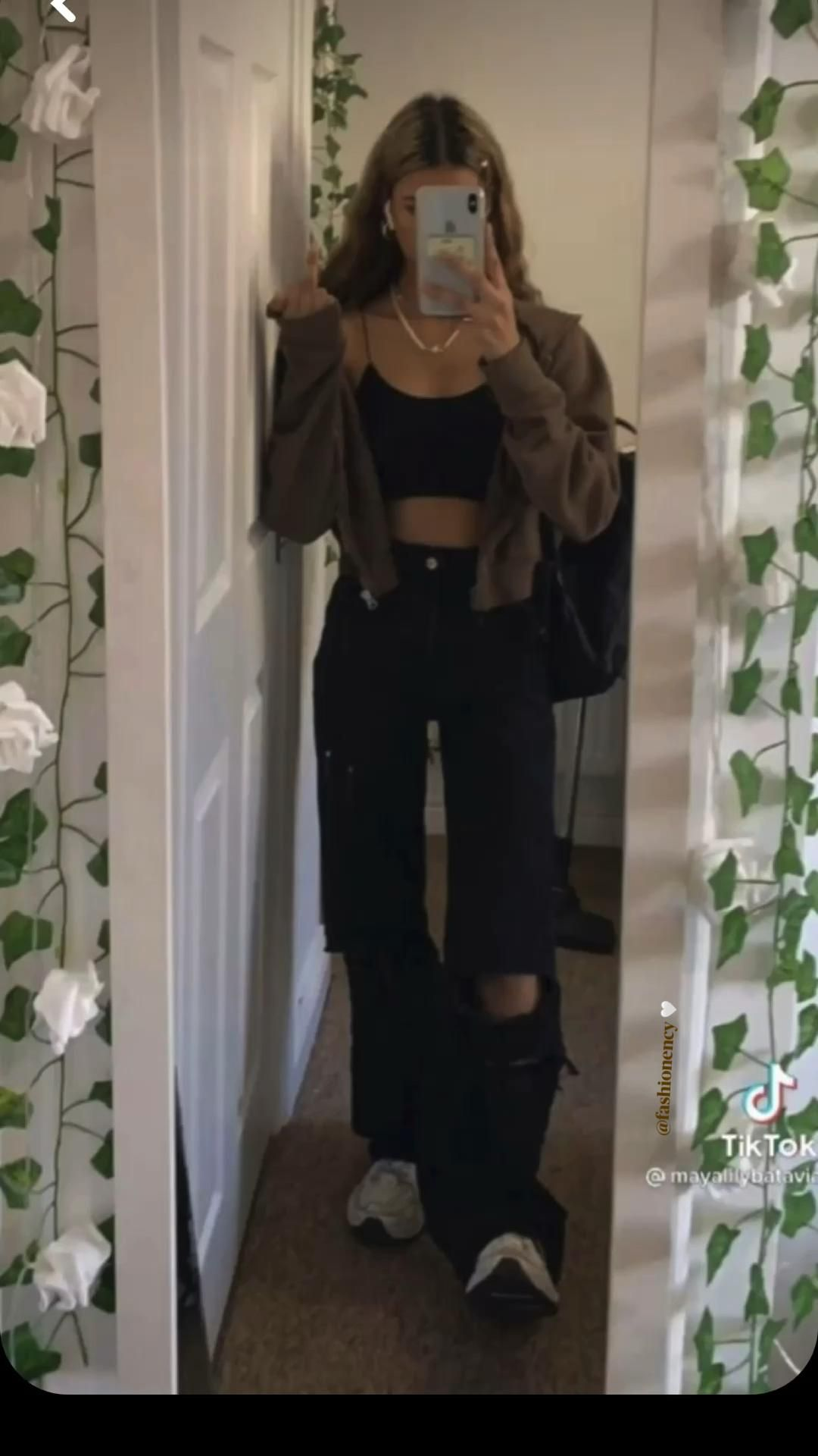 @fashionency 🤍 Brown fitsss aesthetic