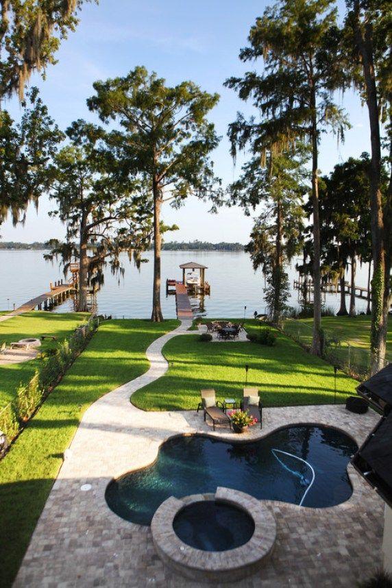 19 Backyards That Will Blow Your Mind Extérieur, Piscines et Cour - amenagement bord de piscine