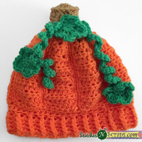 Lil Pumpkin Hat Free Pattern Autumn Season Pinterest