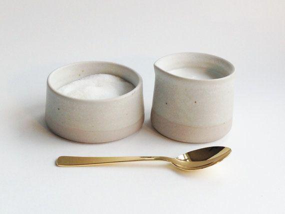 Cream & Sugar by paperandclaystudio on Etsy, $42.00