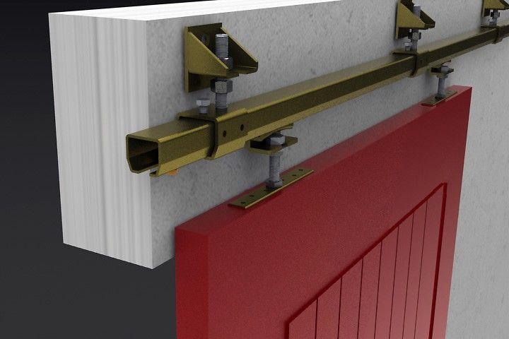 Amazing Niko 23 Series Industrial Sliding Door Track Is For Door Weights Up To