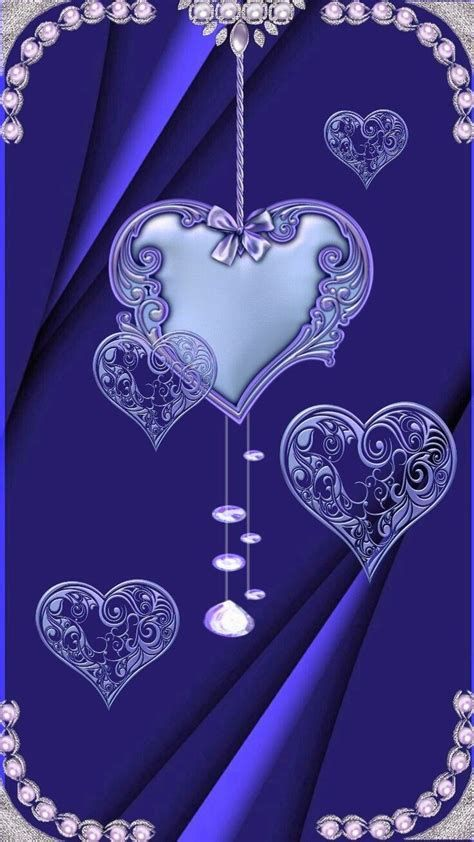 Images By Chantal Wiese On BLUE | Heart Iphone Wallpaper