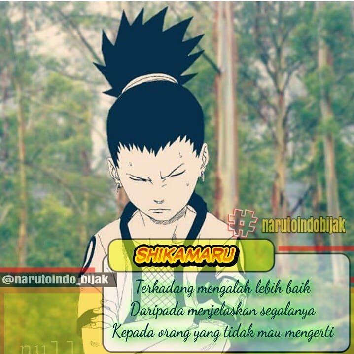 Kata Bijak Naruto Dan Boruto Di Instagram Request Kata Bijak