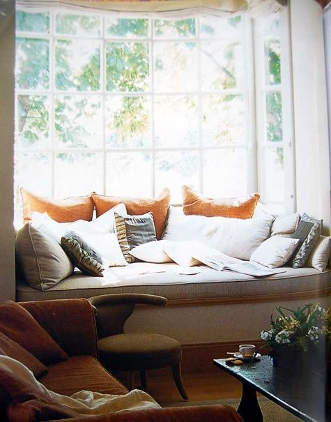 How To Arrange Pillows On A Window Seat Google Search The New