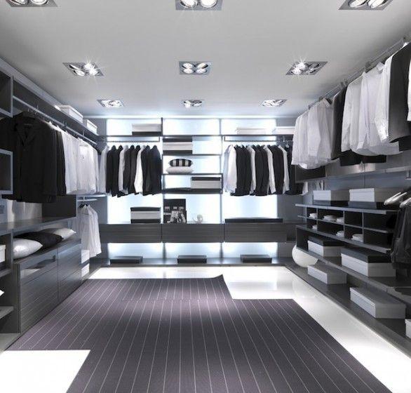 Walkin closet vestidor armario de zapatos armario de - Armarios para zapatos ...