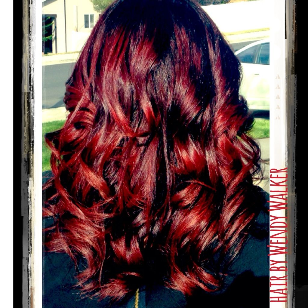 Fall hair color reds by wendy walker hair affair pinterest