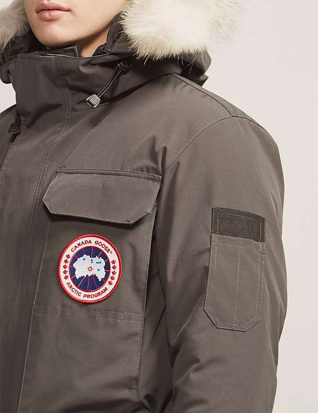 3608cdc6 Grå Canada Goose Citadel Parka jakke – dunjakker herre 2016 | canada ...