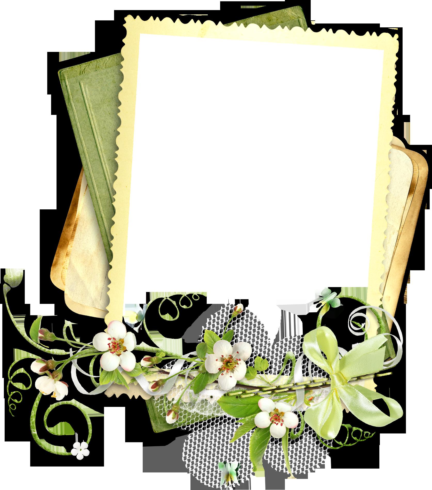 Рамки вырезы для оформления фотографий