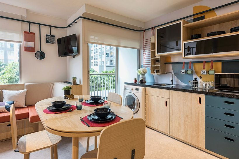 Flexible function co-living space for students | Architecture ... on kitchen bathroom ideas, kitchen rugs ideas, kitchen backyard ideas, kitchen library ideas, kitchen under stairs storage ideas, kitchen living room floor plans, kitchen tv room ideas, dining room ideas, kitchen shelving unit ideas, kitchen staircase ideas, kitchen window ledge ideas, kitchen mud room ideas, kitchen pantry room ideas, kitchen breakfast room ideas, kitchen hall ideas, kitchen living room blueprints, kitchen storage room ideas, kitchen and living room small spaces, kitchen breakfast counter ideas, kitchen back porch ideas,