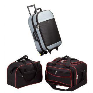 Get 81% OFF ON Combo Of 3 Luggage Bags (Trolley Bag, Duggle Bag, Luggage Bag).