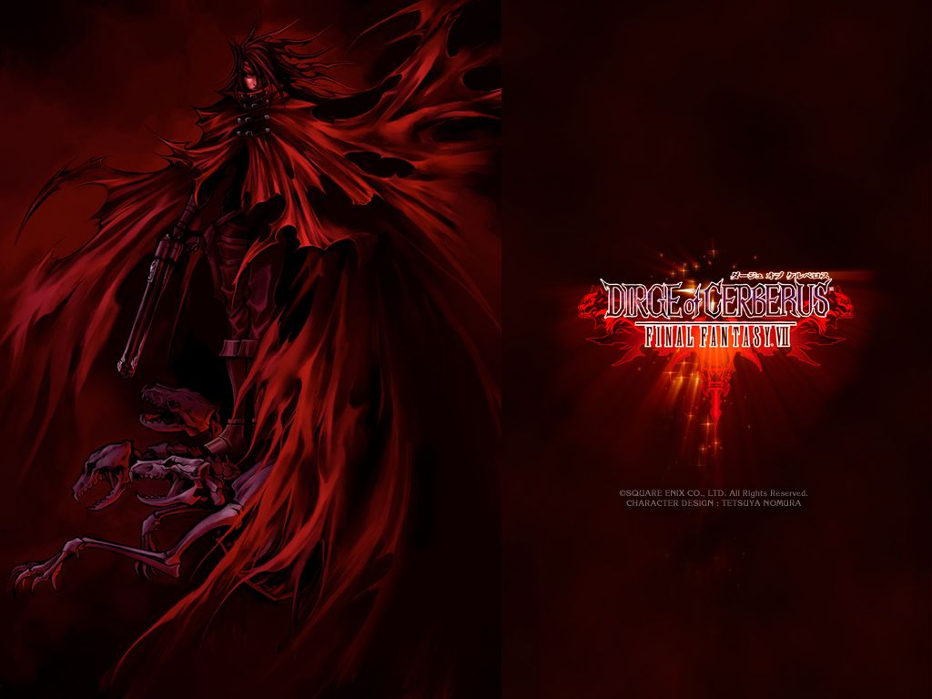 Final Fantasy VII Dirge Of Cerberus FFDC Wallpapers