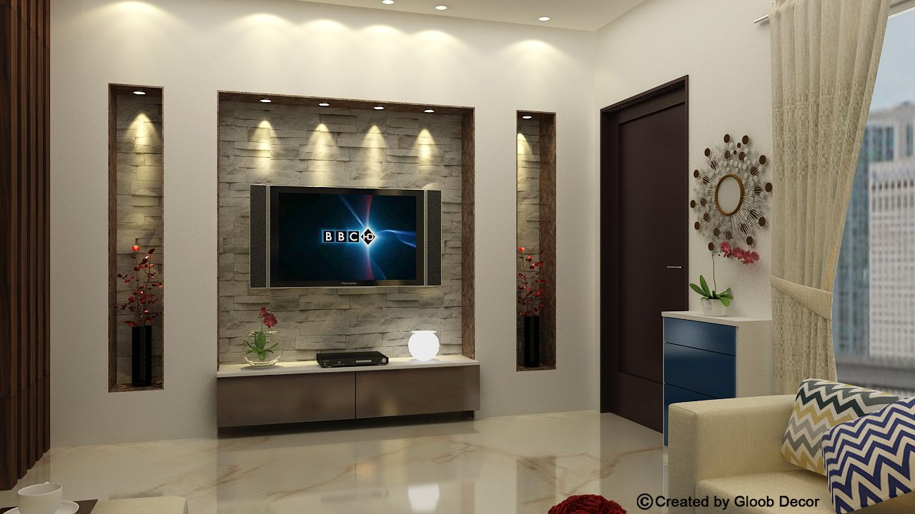 Living Room Tv Wall Muebles Sala Decoracion Living Et