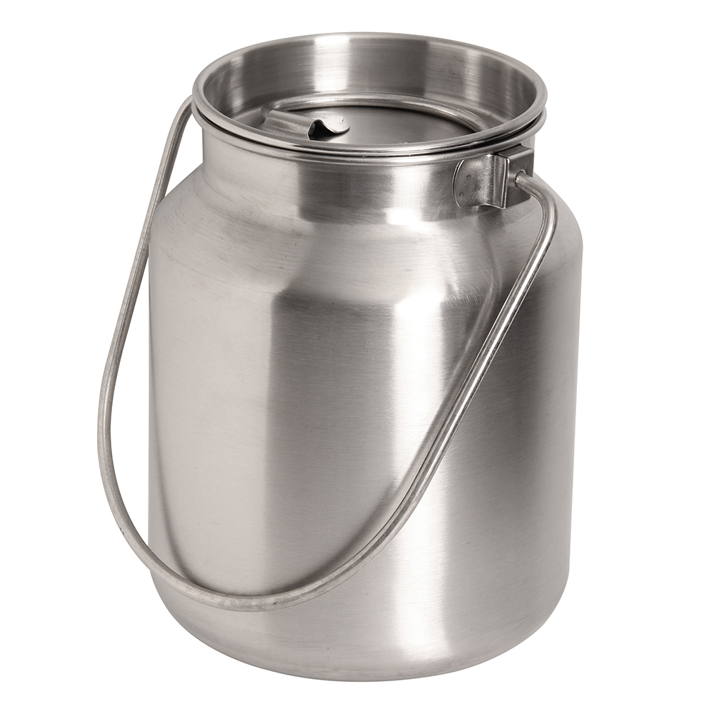 1 Gallon Stainless Steel Bucket With Lid In 2020 Stainless Steel Food Storage Stainless Steel Bakeware Steel Bucket