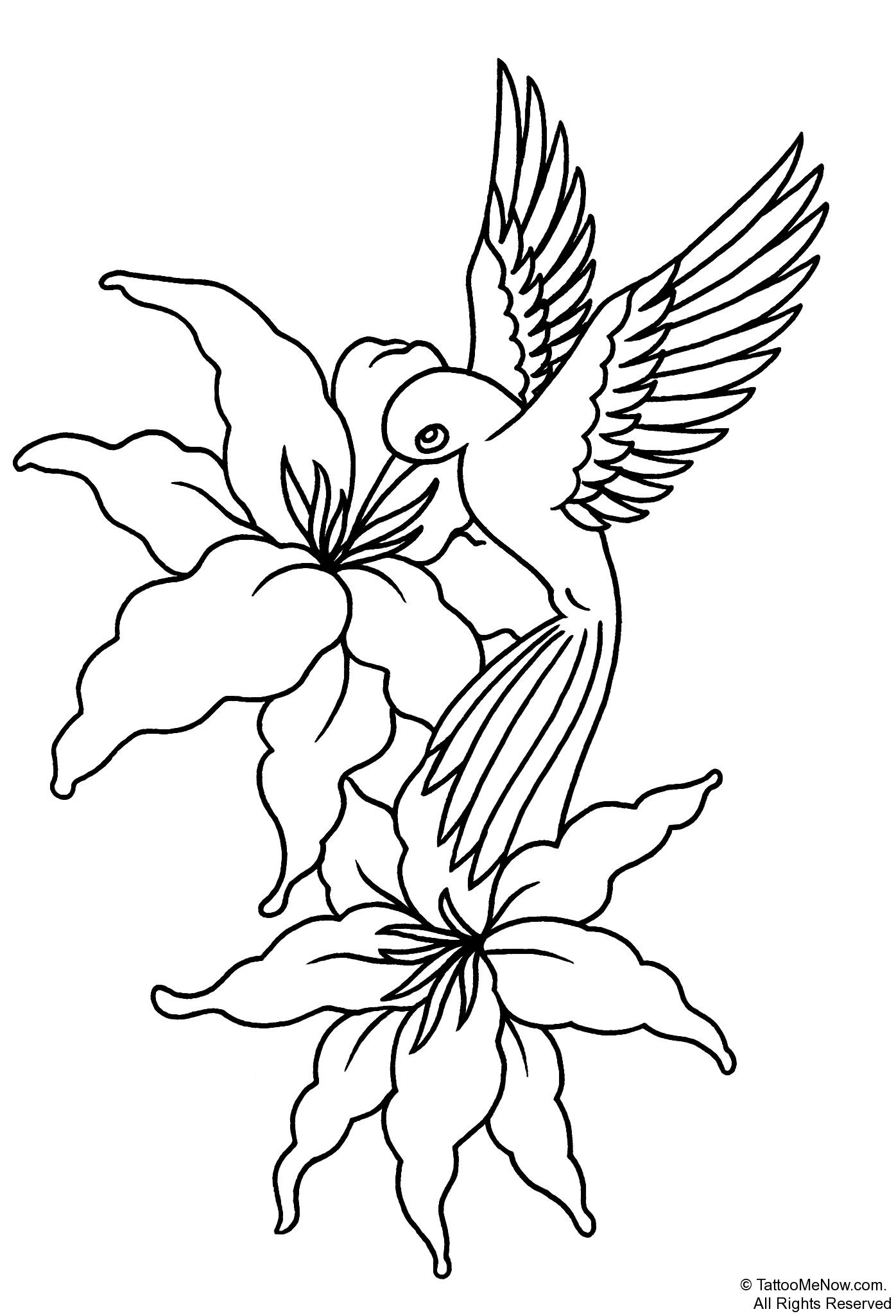 Flower Stencils Printable | Your Free Printable Tattoo ...