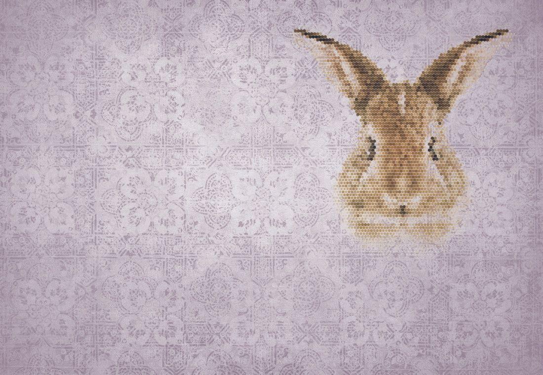 Babykamer Behang Konijn : Sterk design behang konijn behang sterk design designwebwinkel