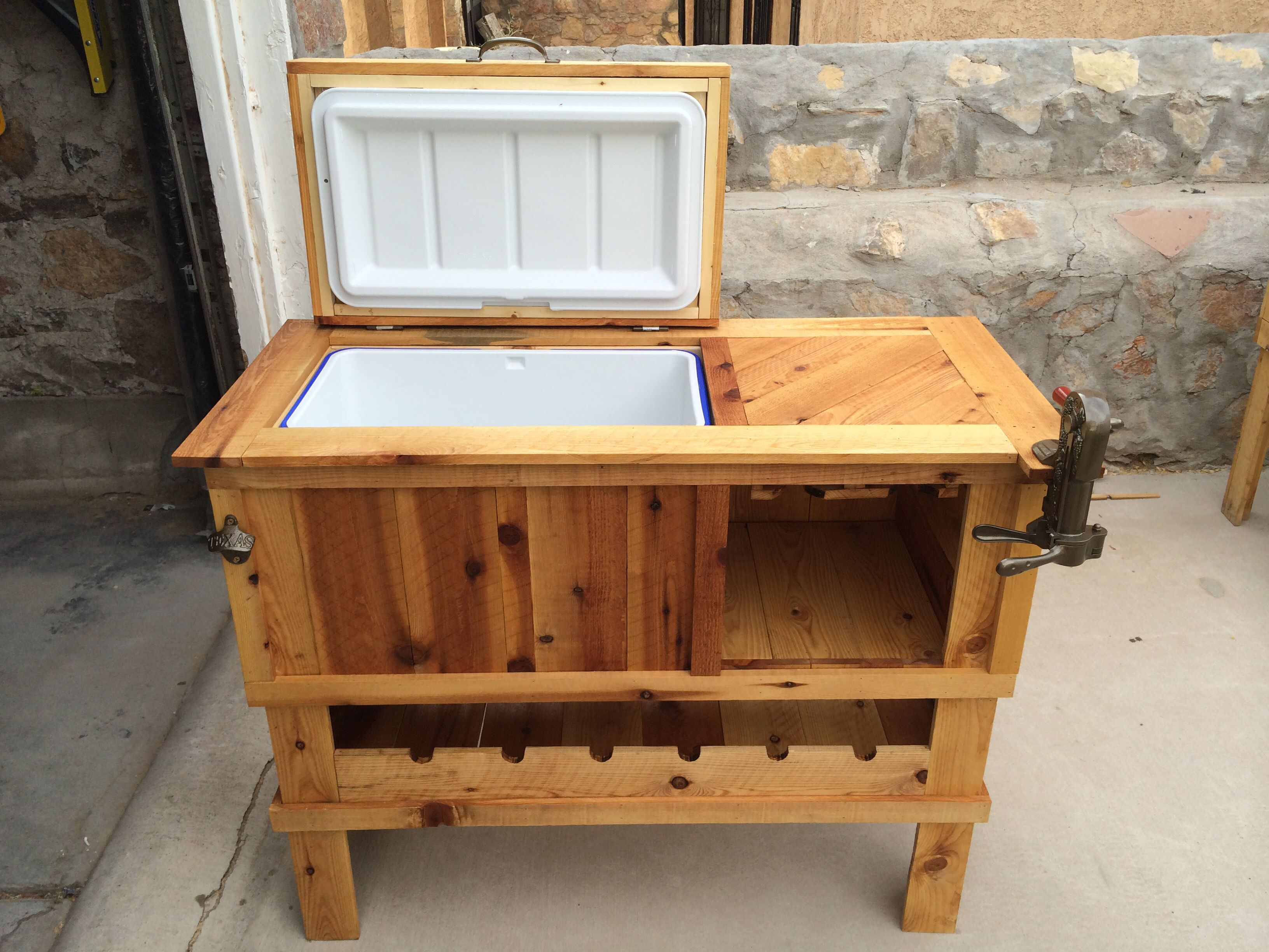 re country furniture indoor products patio brown rustic outdoor cooler cart shop woodworx cabinet