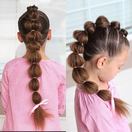 40 Pretty Fun And Funky Braids Hairstyles For Kids - Part 9 - Hair Beauty