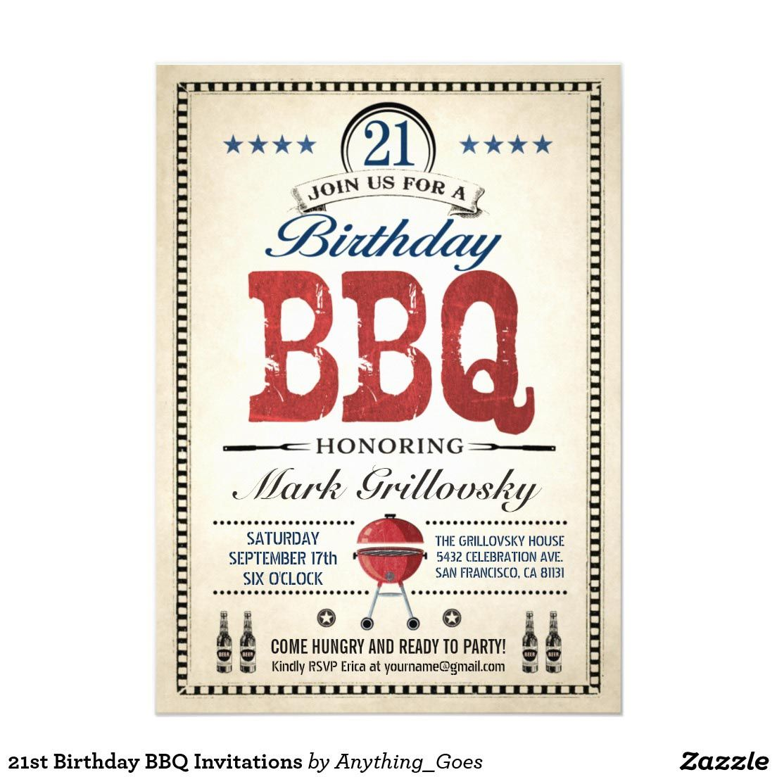 21st Birthday BBQ Party Ideas | BBQ | Pinterest | Birthday bbq