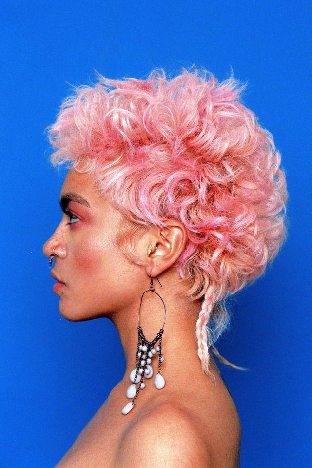 Pink Short Hair Hairstyle Ideas Using Hair Dye Bold Hairstyle Idea