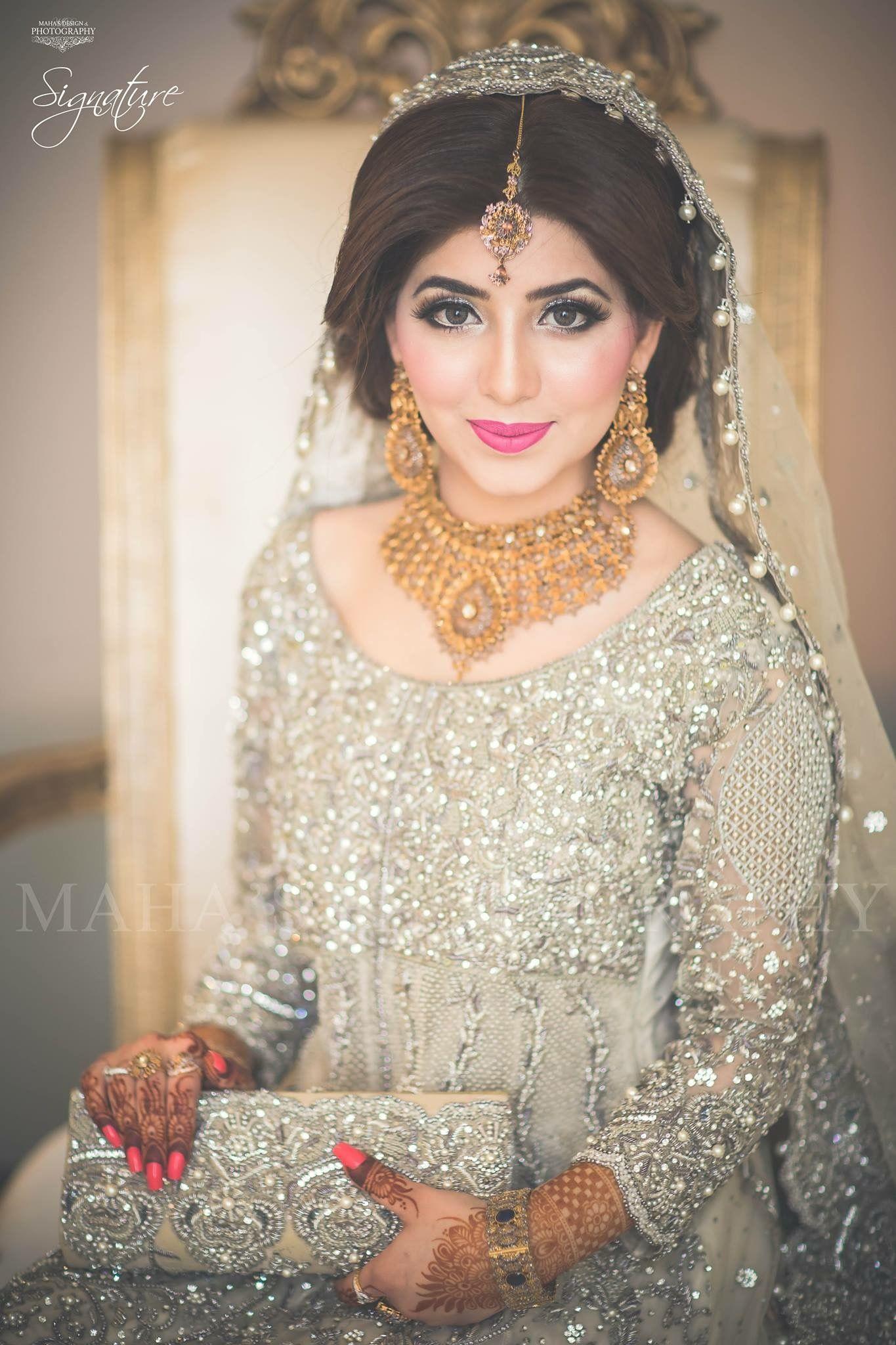 ⚜PINTEREST ELEGANT POINT⚜ Pakistani bridal makeup