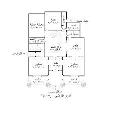 نتيجة بحث الصور عن مخطط فيلا دور واحد Architectural House Plans House Plans House Design