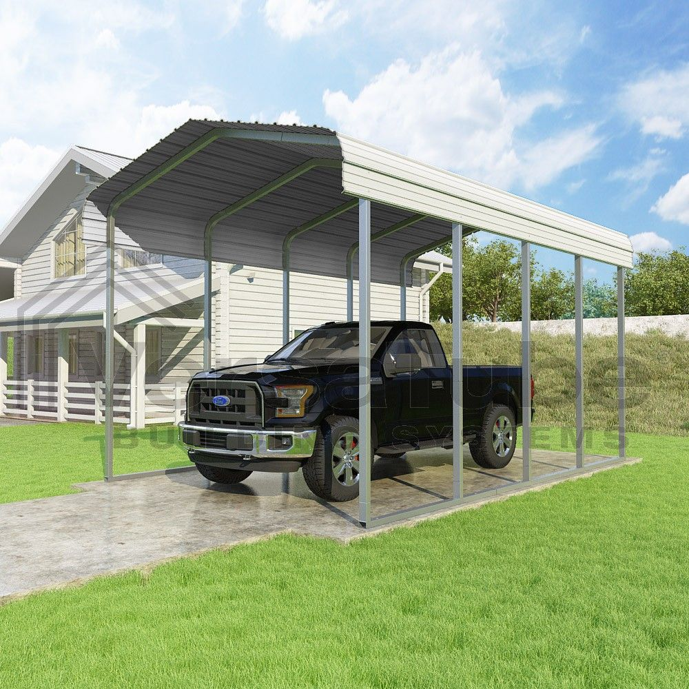 Classic Carport Roof Only 12 x 20 x 10 Carport or