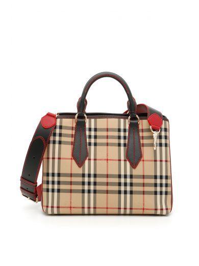 cd0bef63a483 BURBERRY Medium Ballingdon Bag.  burberry  bags  shoulder bags  hand bags   nylon  leather  lining