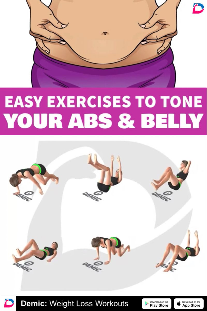 Easy exercises to tone your abs and belly in 2020 easy