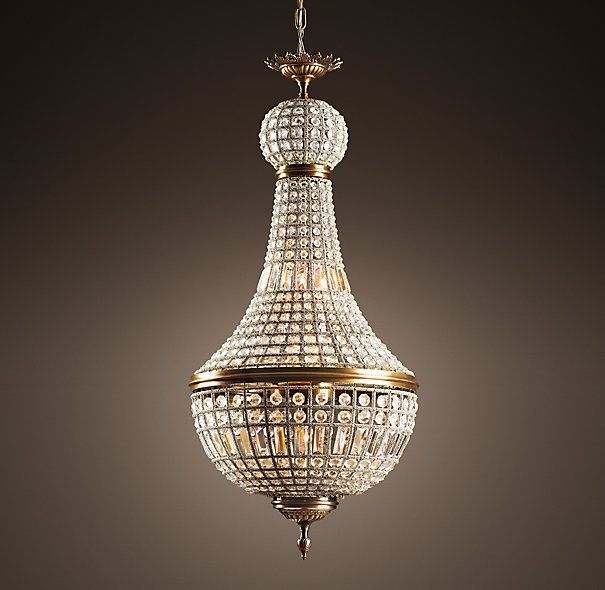 Reproduction 19th c neoclassic french empire crystal 21 reproduction 19th c neoclassic french empire crystal 21 chandelier from restoration hardware mozeypictures Images