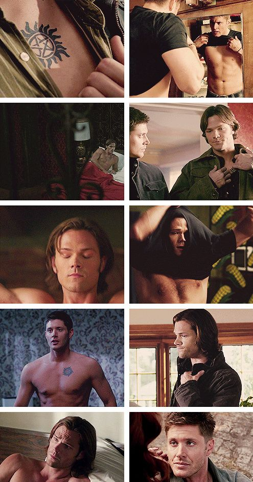 [GIFSET] anti possession tattoo--keep the demons out!