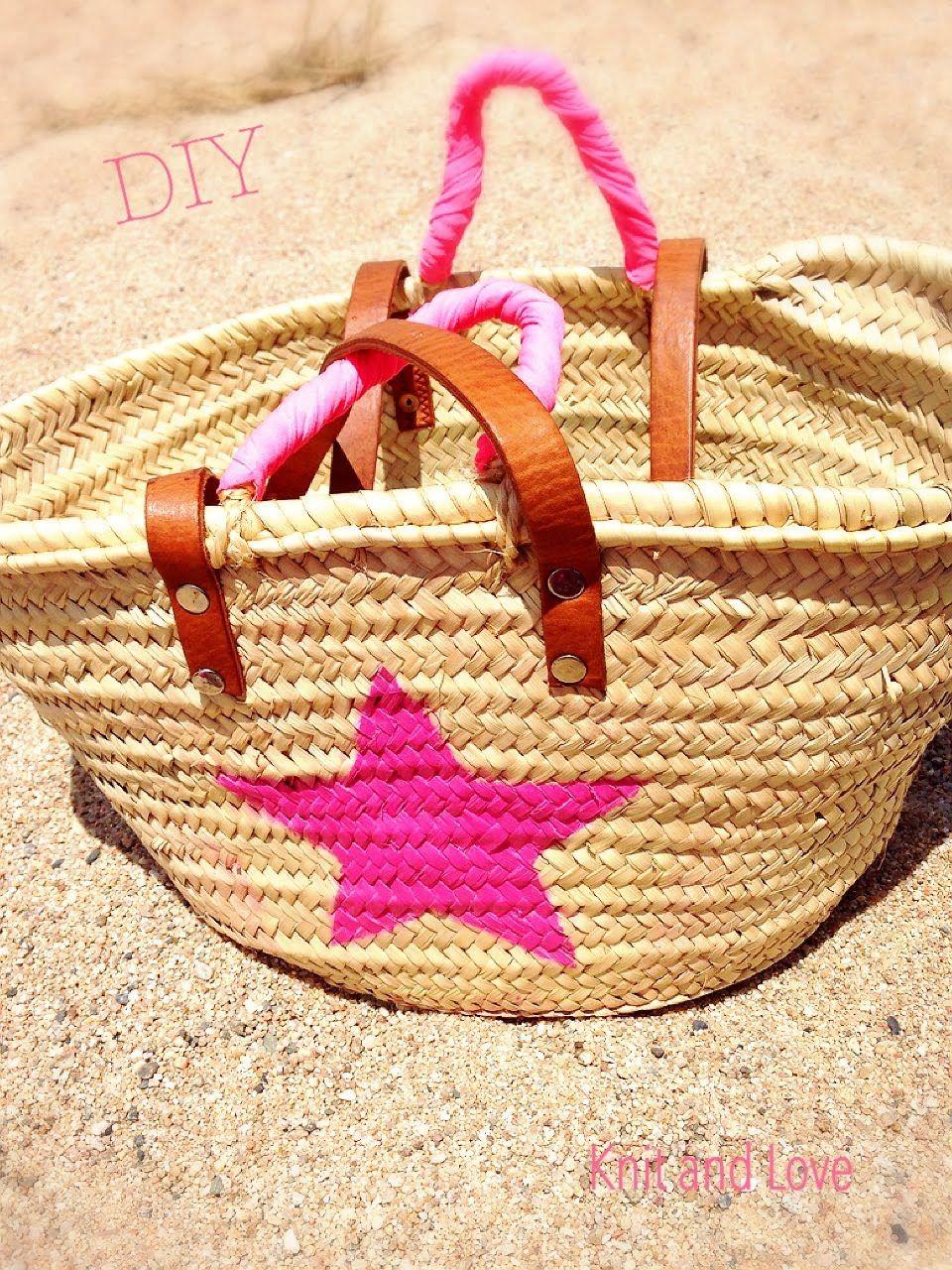 Paso a paso c mo decorar una cesta de mimbre cestas y - Como forrar una cesta de mimbre ...