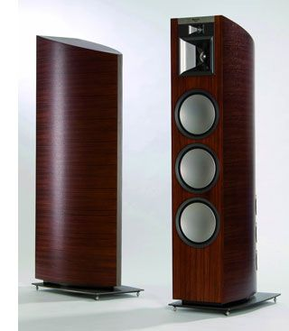 Klipsch Palladium P 39f Speakers By Bmw Designworks Gear Patrol Klipsch Speaker Design Speaker