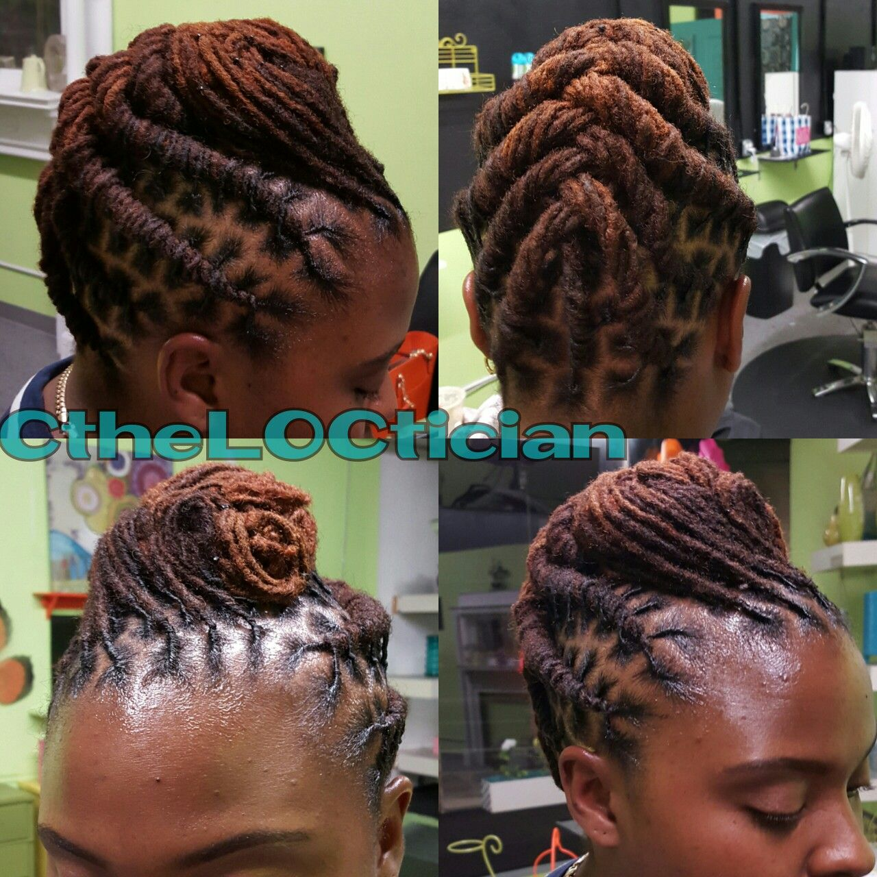 Braided Dread Hairstyles Hairstyle Of Nowdays