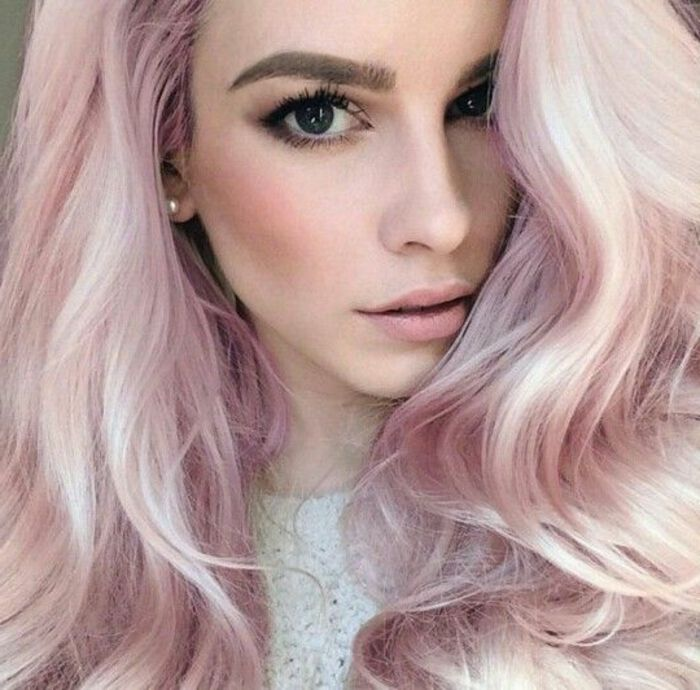 r sultat de recherche d 39 images pour blond ros coiffure pinterest cheveux rose fonc. Black Bedroom Furniture Sets. Home Design Ideas