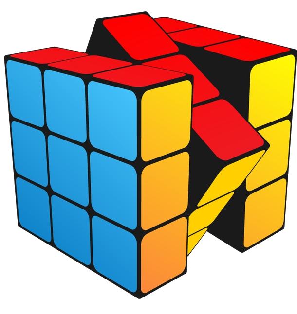 бесплатная загрузка | кубики, шестигранная угловая технология ... | 646x610