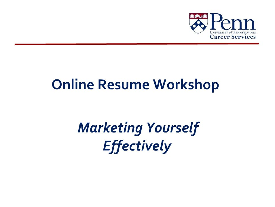 Resume Writing Information From The University Of Pennsylvania A Comprehensive Overview Of Resumes With Explanations Action Words Resume Writing Online Resume