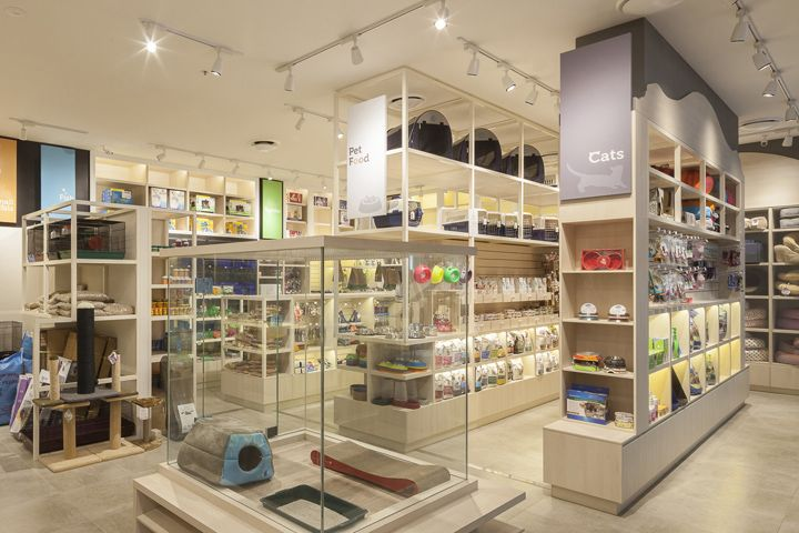 Pampered Petz pet store by Rptecture Architects, Sydney
