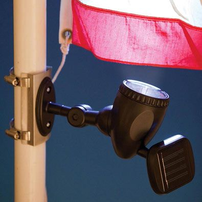 Solar flagpole light flag pole lights solar and lights buy solar flagpole light at bits and pieces mozeypictures Image collections