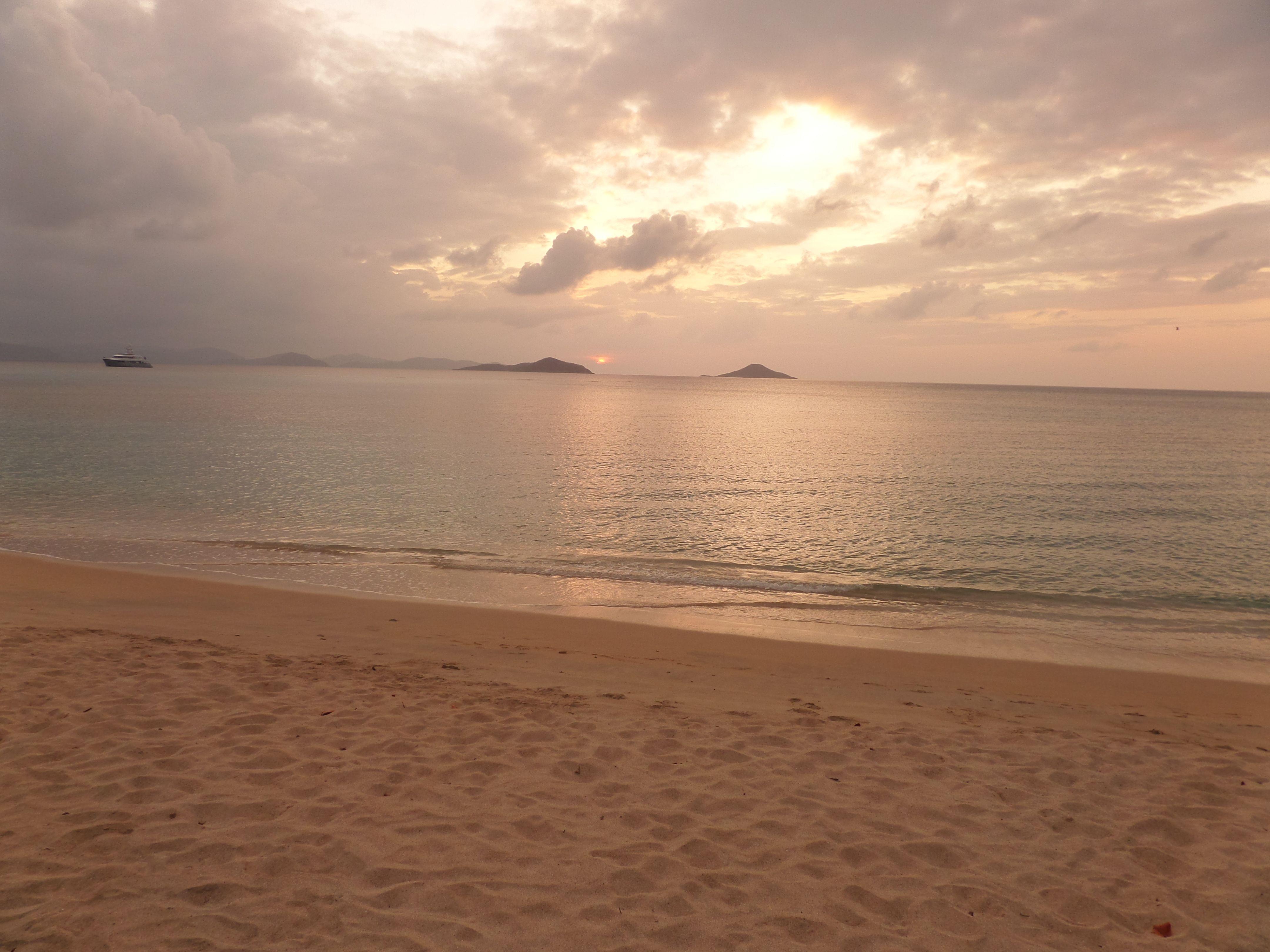 Sunset at Virgin Gorda