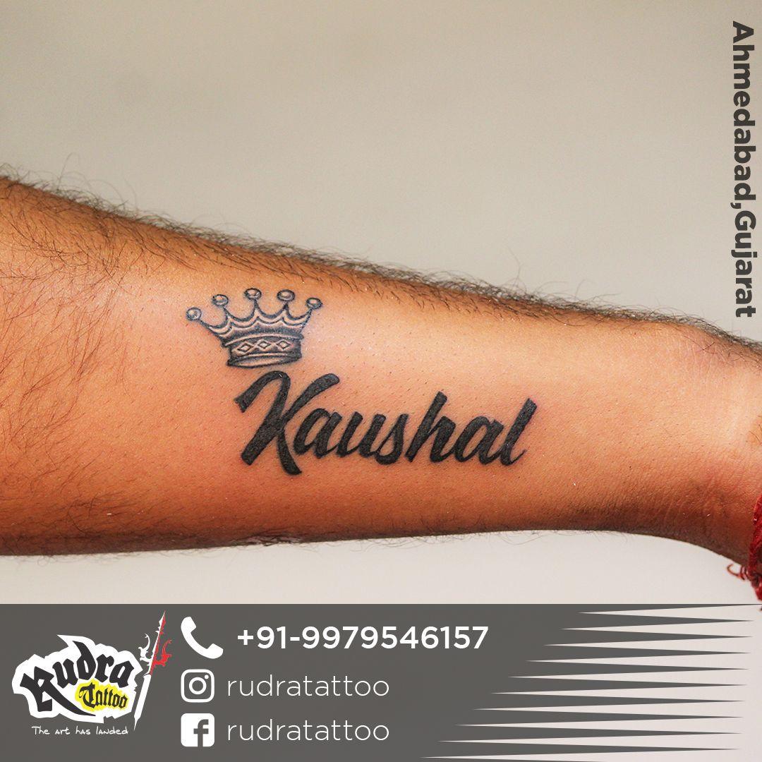 Name Tattoo With King Crown Tattoos Name Tattoo Name Tattoos