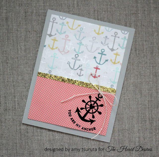 Tsuruta Designs: The Heart Desires challenge #1: You are my anchor