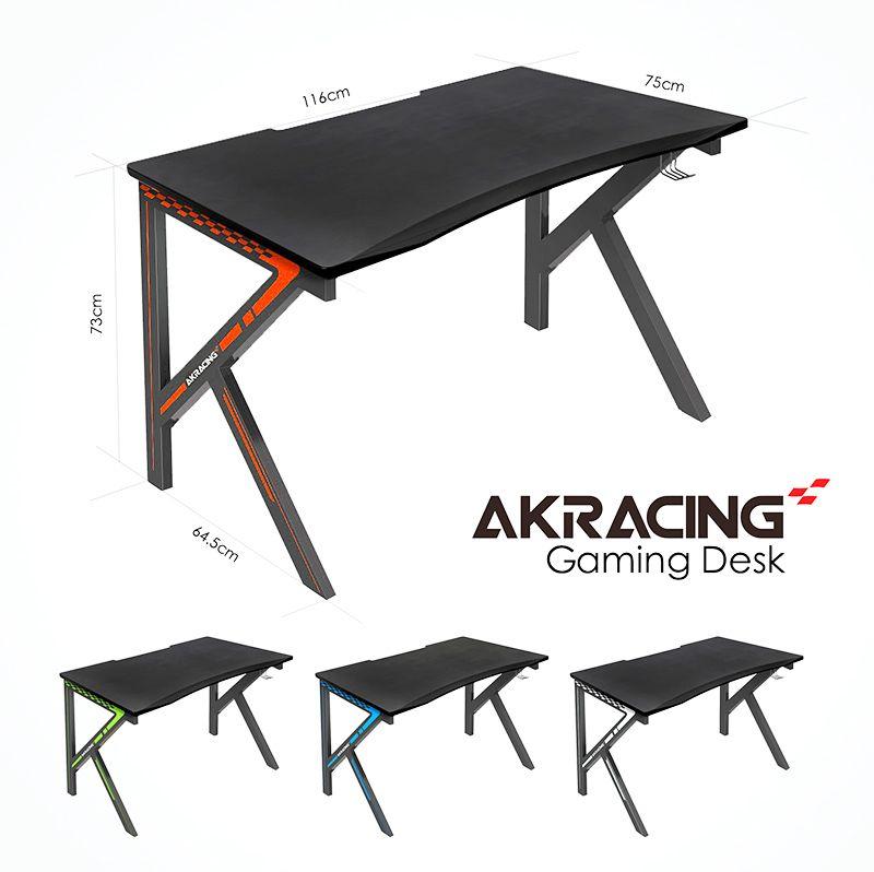 Akracing gaming desk red gaming desks gaming desk