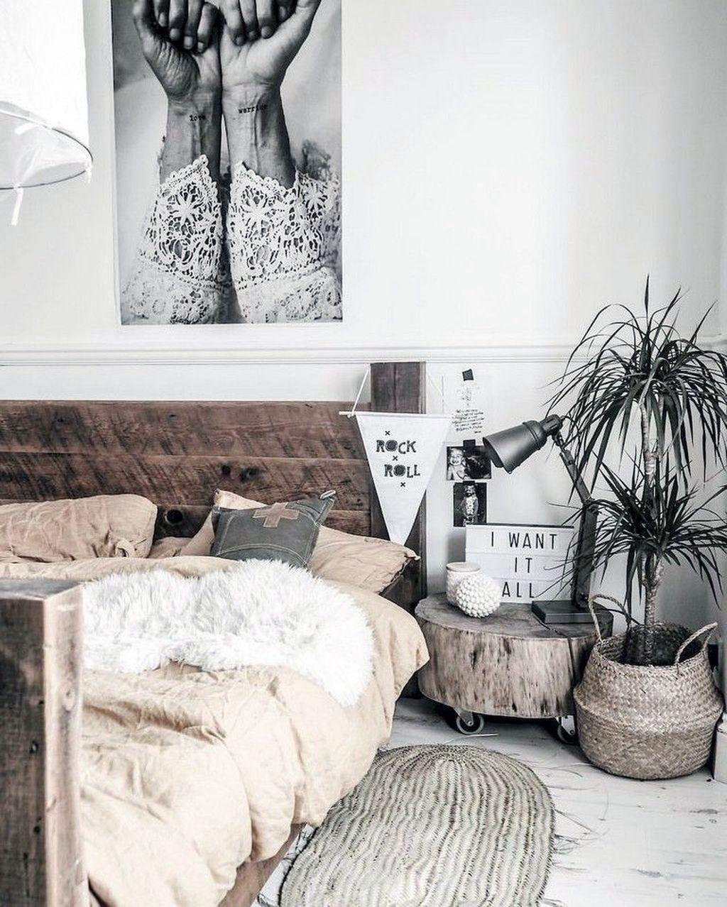 31 Magnificent Rustic Scandinavian Interior Bedroom Inspirations In 2020 Scandinavian Interior Bedroom Scandinavian Design Bedroom Rustic Bedroom Decor