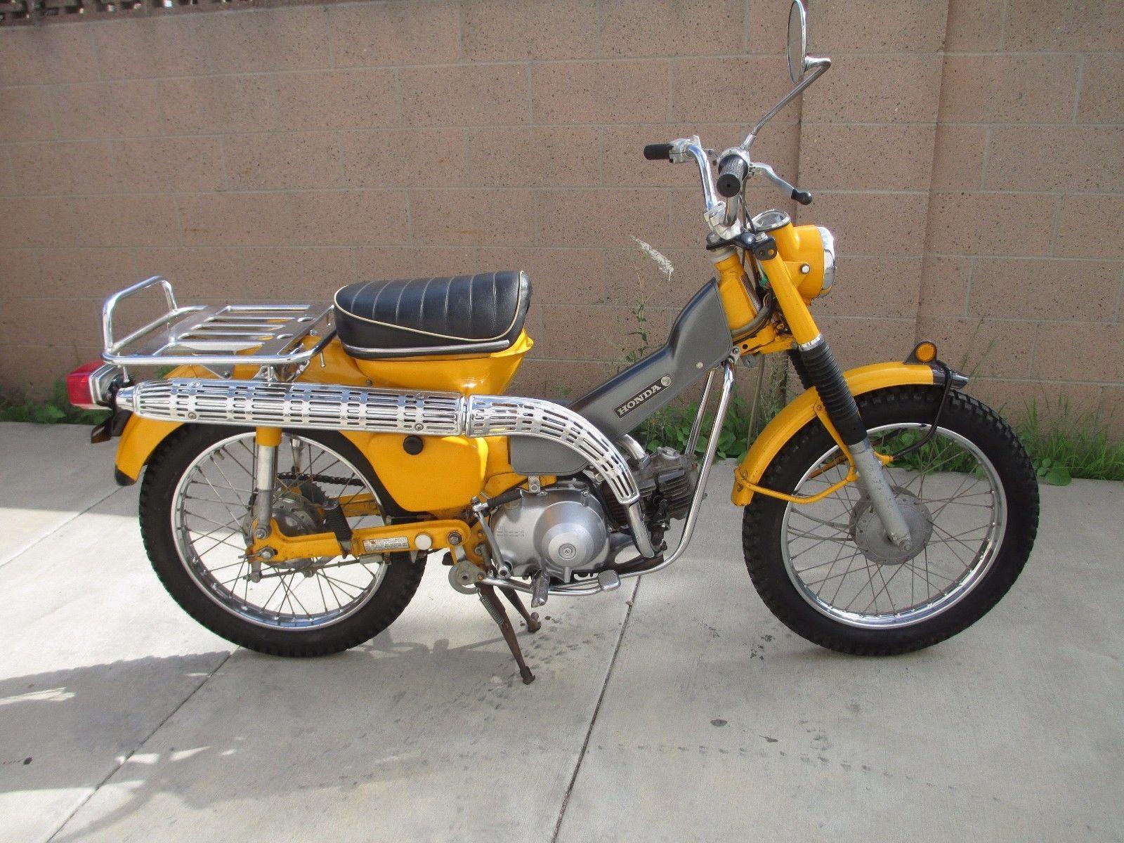 eBay: 1969 Honda CT Vintage 1969 Honda CT90, Enduro, Ahrma, Low miles,  WoW!!!! #motorcycles #biker